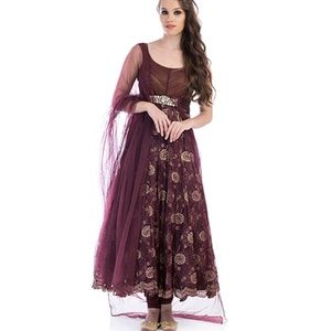 Anarkali Gown Indian Pakistani